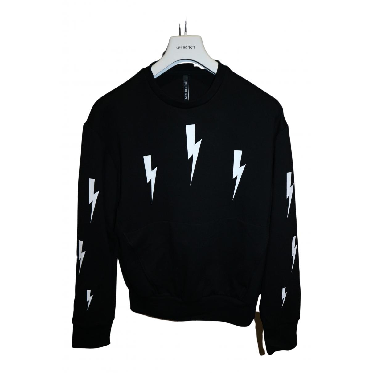 Neil Barrett \N Pullover.Westen.Sweatshirts  in  Schwarz Polyester