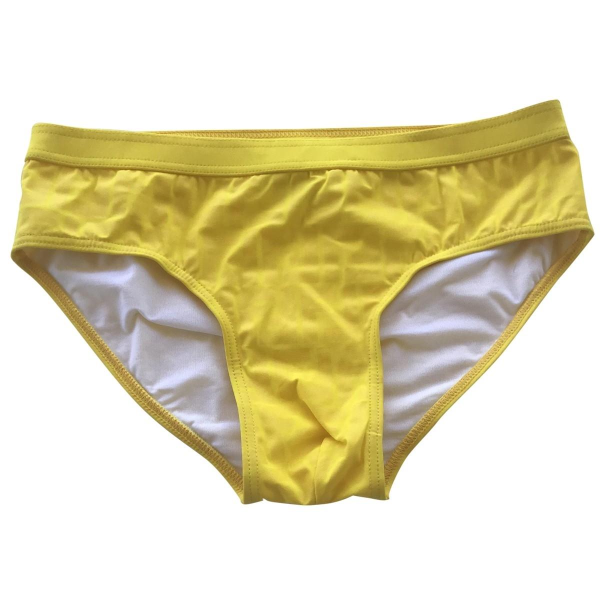 Fendi \N Badeanzug in  Gelb Polyester