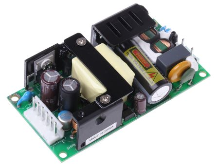 TRACOPOWER , 55W Embedded Switch Mode Power Supply SMPS, 5V dc, Open Frame