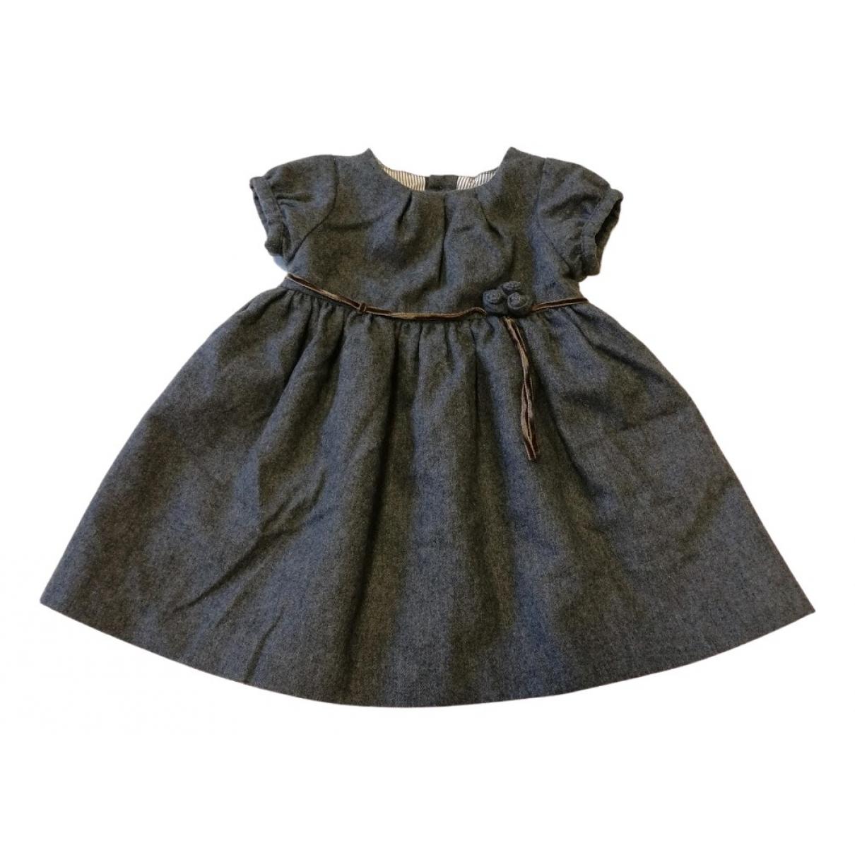 Jacadi \N Kleid in  Grau Wolle