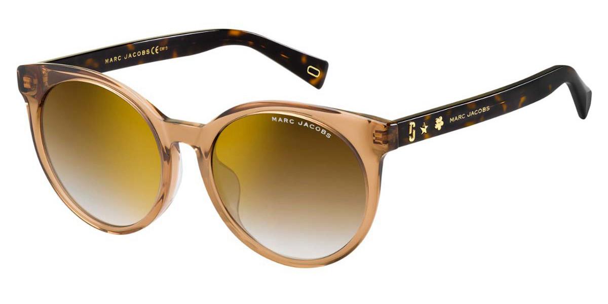 Marc Jacobs MARC 344/F/S Asian Fit 086/JL Women's Sunglasses Gold Size 54