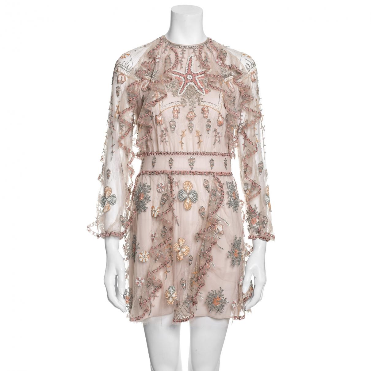 Valentino Garavani \N Pink dress for Women 38 FR