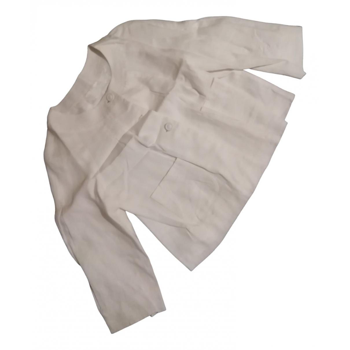 Day Birger & Mikkelsen \N White Linen jacket for Women 12 UK