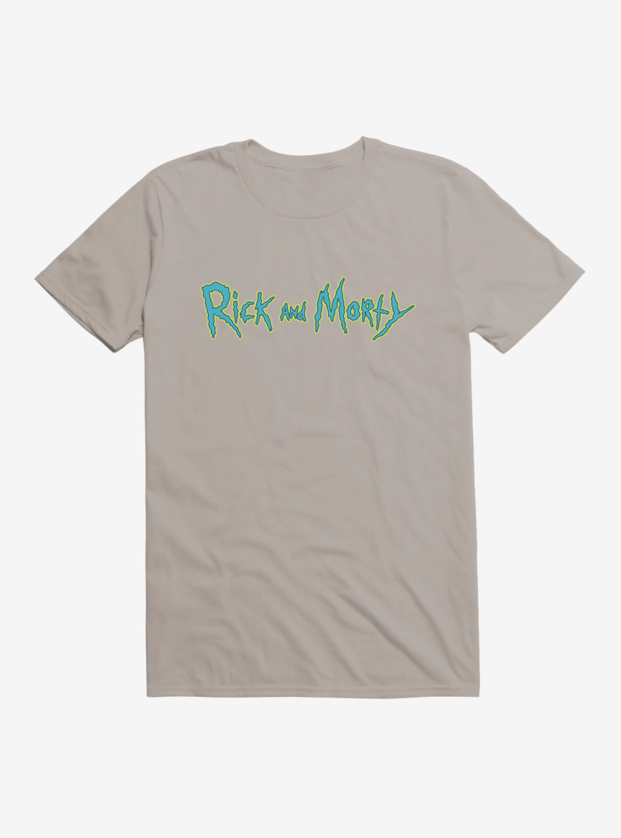 Rick And Morty Classic Logo T-Shirt