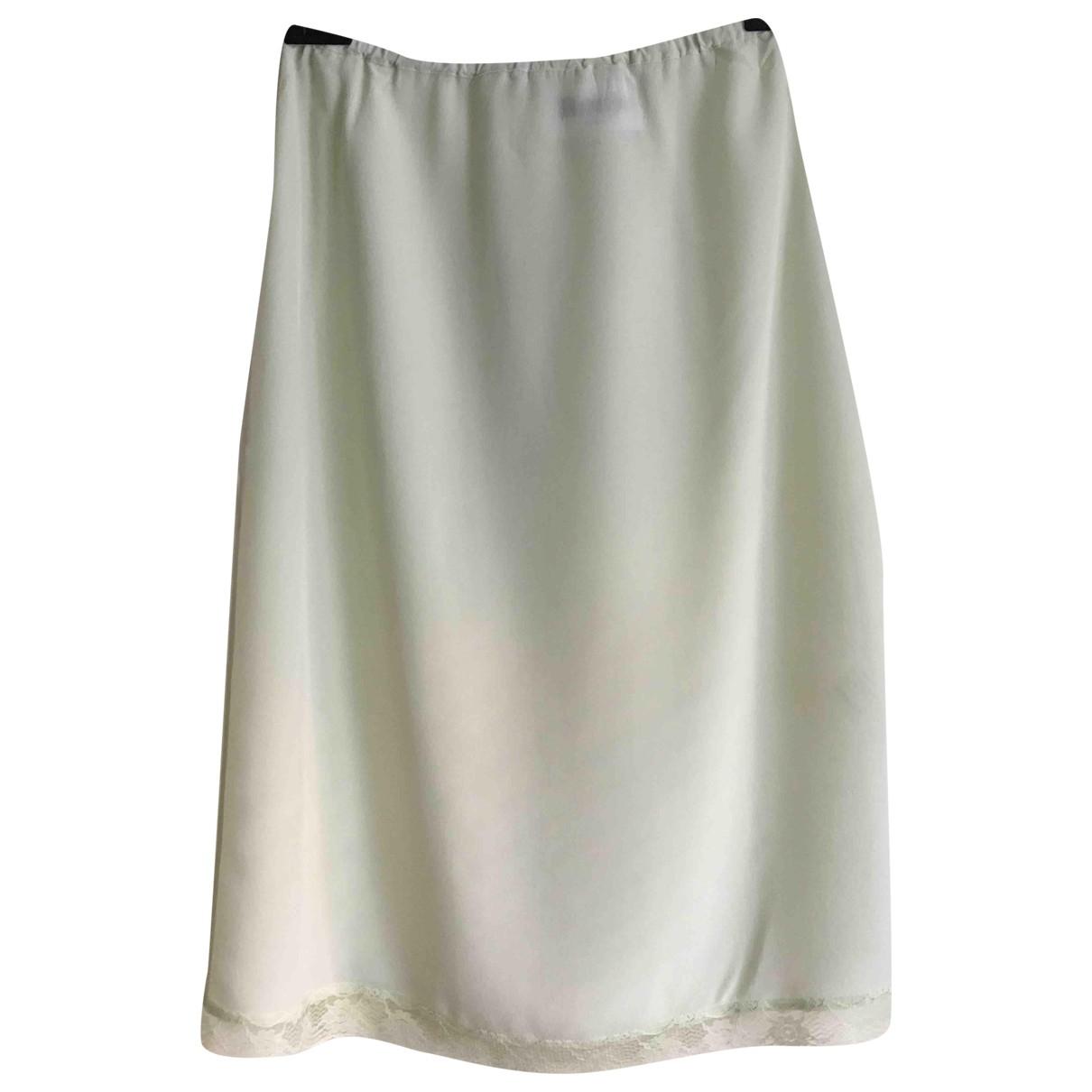 Rouje Spring Summer 2019 Green Silk skirt for Women 34 FR