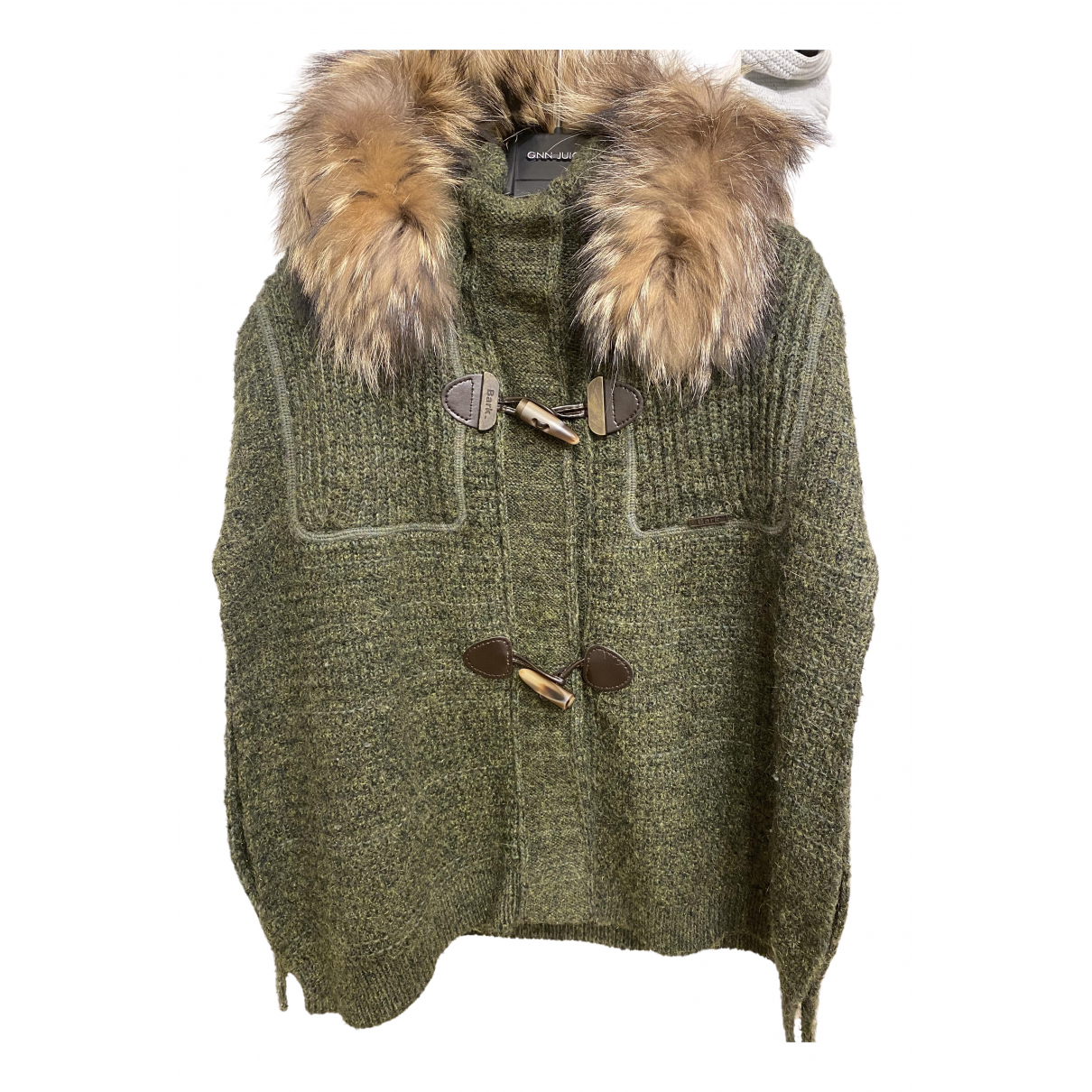 Bark - Veste   pour femme en laine - vert