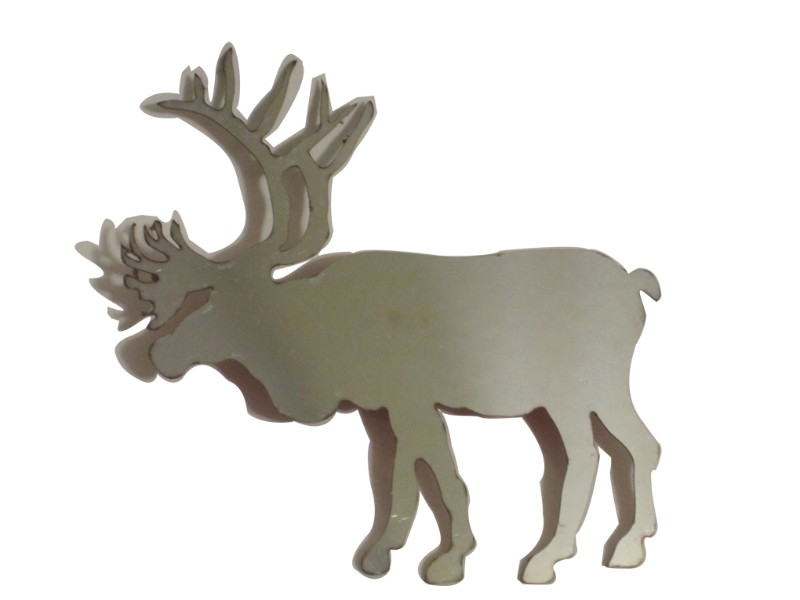 Quality Automotive Accessories Universal Decal ELK or Moose