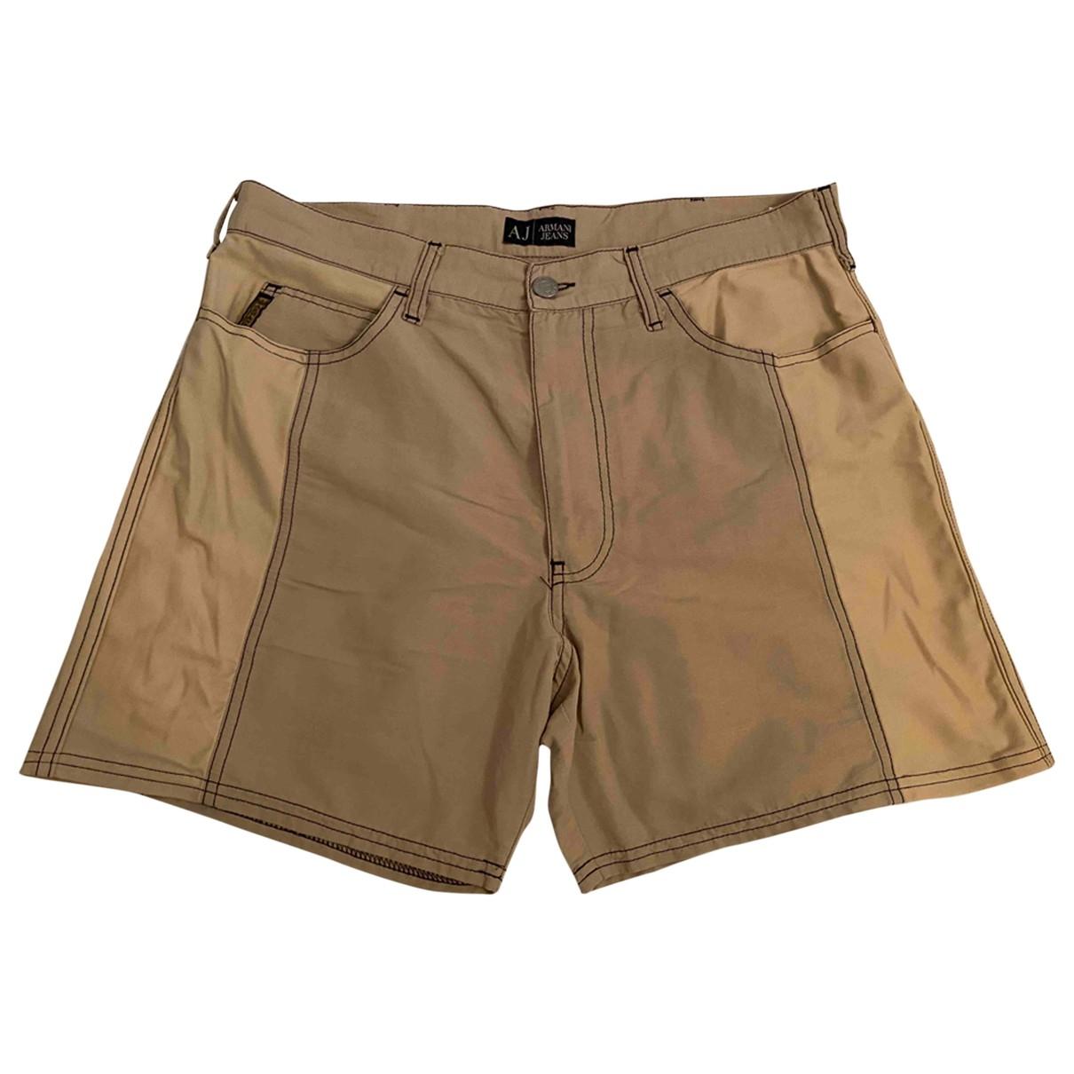 Armani Jeans \N Shorts in  Beige Baumwolle