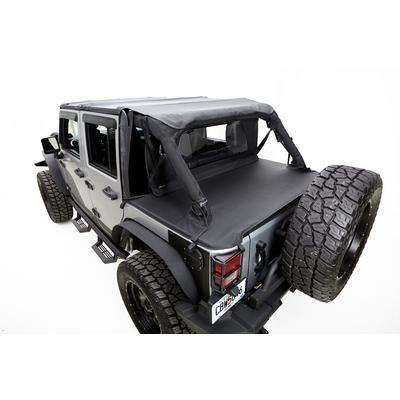 Rampage Jeep Tonneau Cover (Black Diamond) - 731035