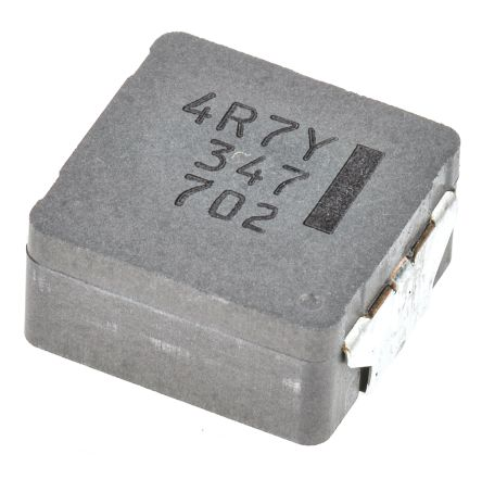 Panasonic , ETQP5M, PCC-M Wire-wound SMD Inductor with a Metal Composite Core, 4.7 μH ±20% Wire-Wound 13.1A Idc