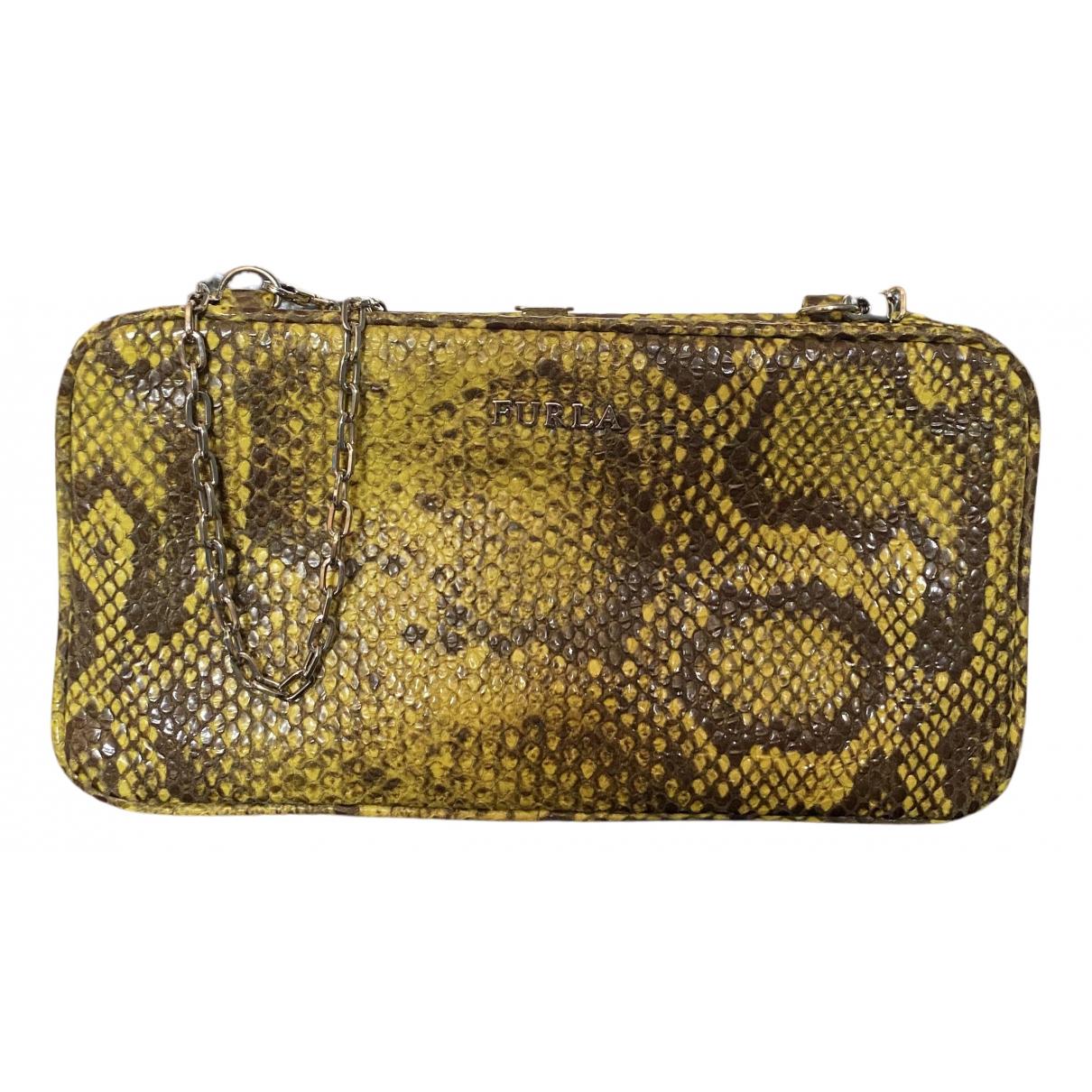 Bolsos clutch en Sintetico Amarillo Furla