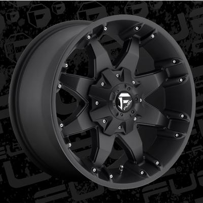 MHT Fuel Offroad D509 Octane, 18x9 Wheel with 8 on 170 Bolt Pattern - Black - D5098901750