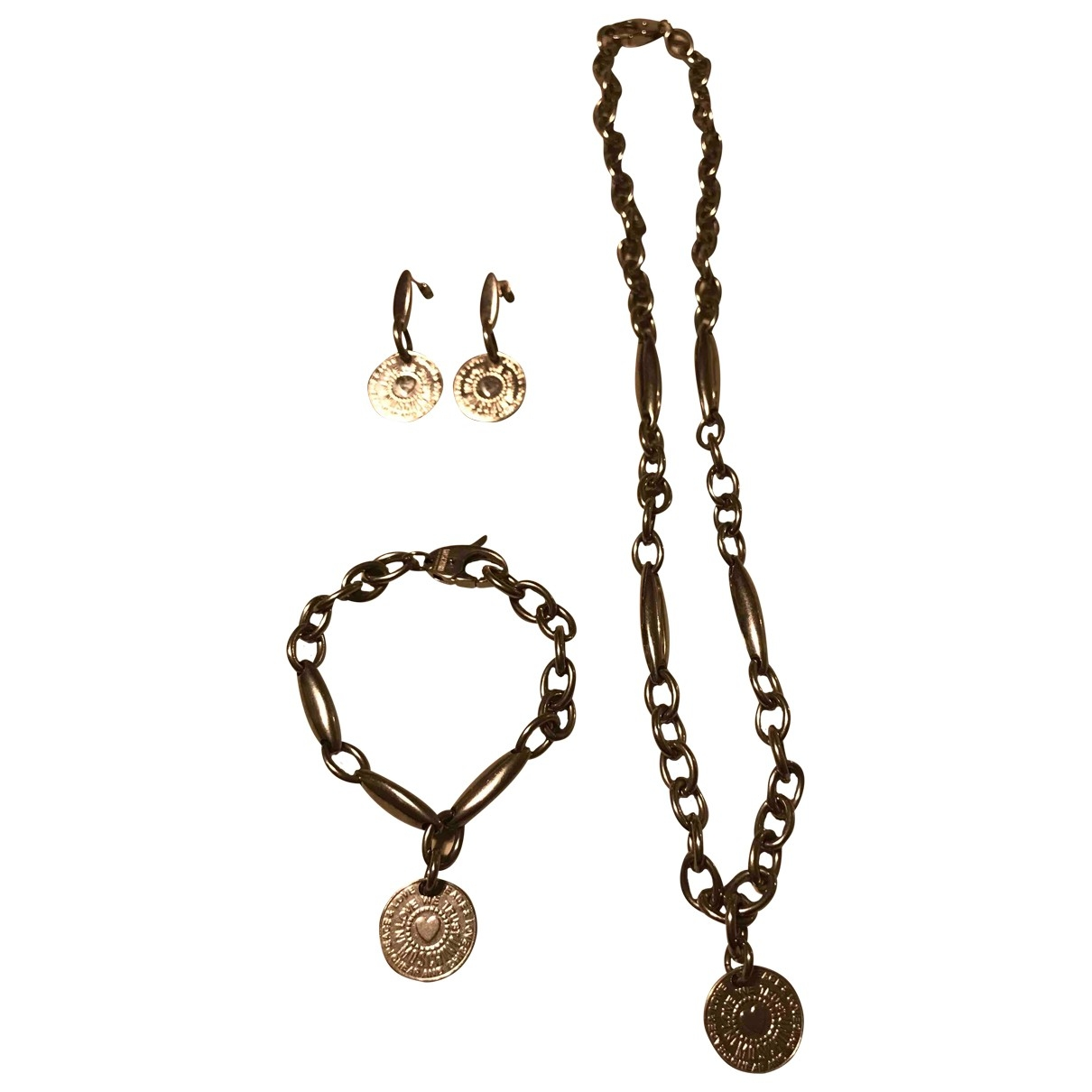 Moschino Cheap And Chic \N Schmuck-set in  Silber Stahl