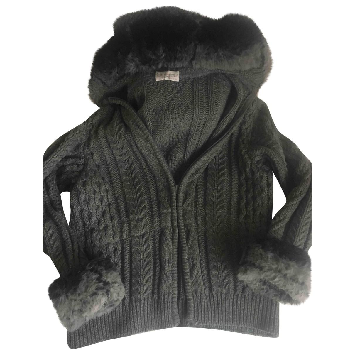 Byblos \N Jacke in  Grau Wolle