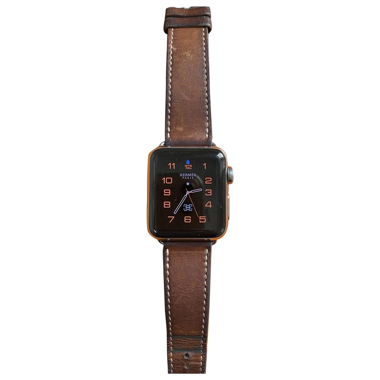 Apple Apple Watch x Hermes 38mm Uhr in  Silber Stahl