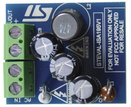 STMicroelectronics STEVAL-ISA195V1 5 V / 0.36 A Buck Converter using VIPerPlus VIPer11 Buck Controller for VIPer11,