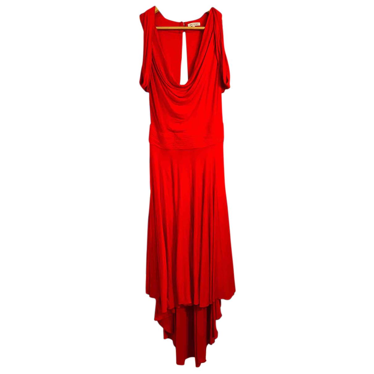 Maxi vestido de Seda Zac Posen