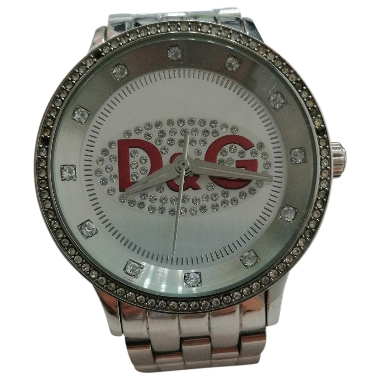 D&g \N Uhr in  Rot Stahl