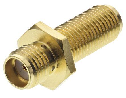Huber & Suhner Straight 50Ω RF Adapter SMA Socket to SMA Socket 18GHz