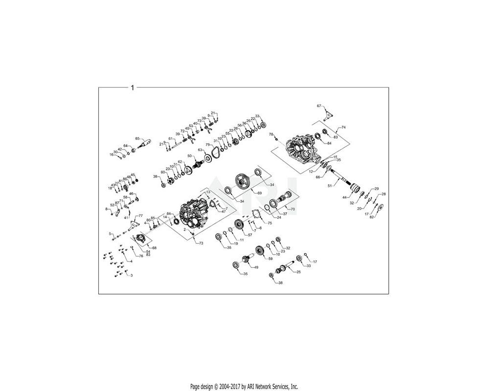 Polaris OEM 1334344 ASM-GEARCASE | [INCL. ALL]