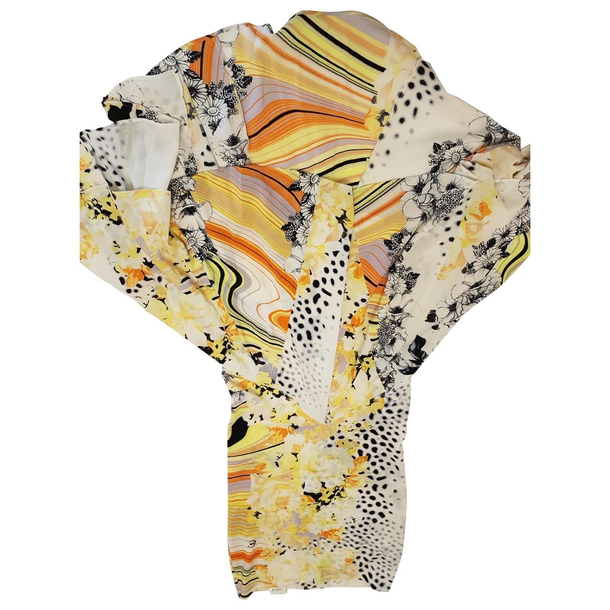 Roberto Cavalli - Jupe   pour femme en soie - jaune