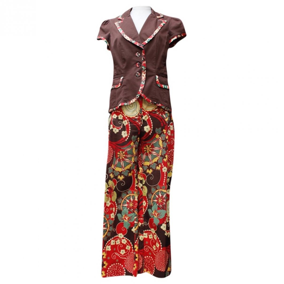 Kenzo - Veste   pour femme en coton - marron