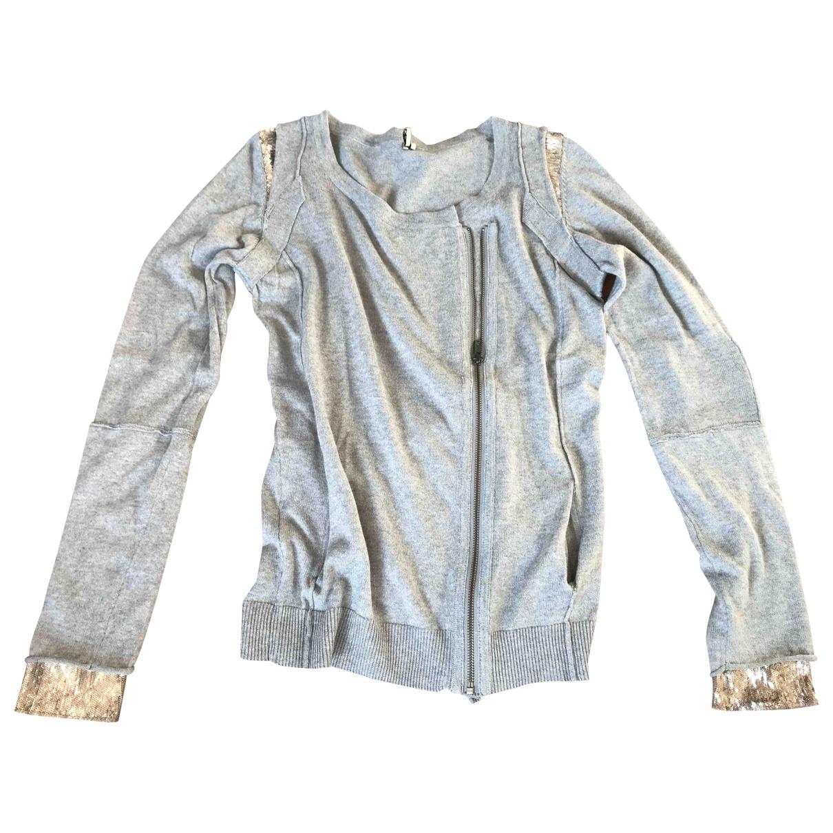 Iro \N Silver Cotton Knitwear for Women 2 0-5