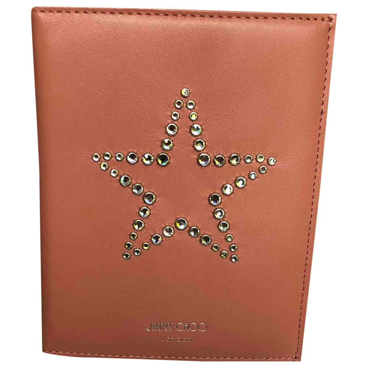 Jimmy Choo \N Pink Leather Purses, wallet & cases for Women \N