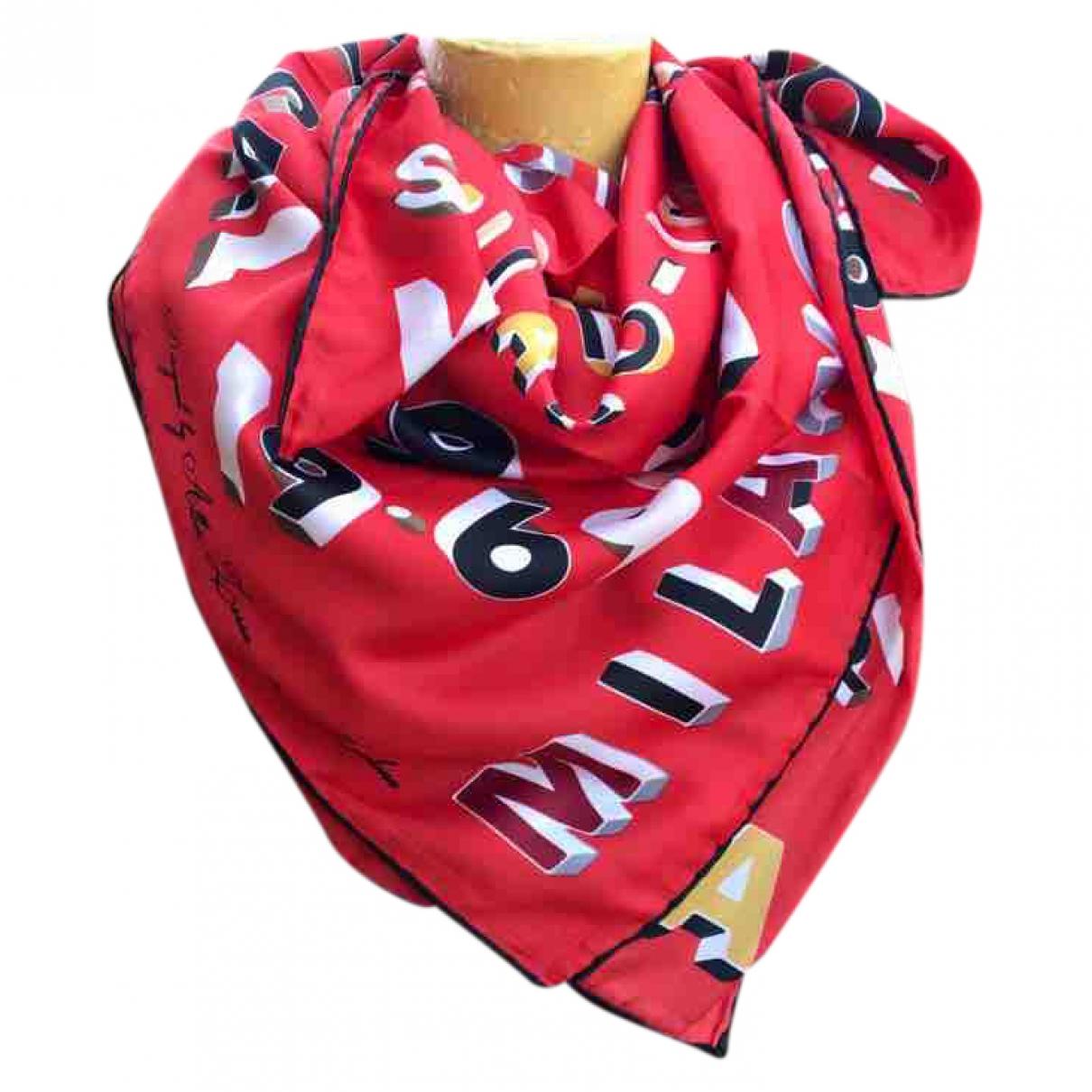 Versus \N Schal in  Rot Polyester