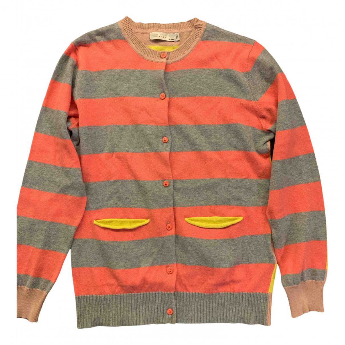 Stella Mccartney Kids - Pull   pour enfant en coton - multicolore
