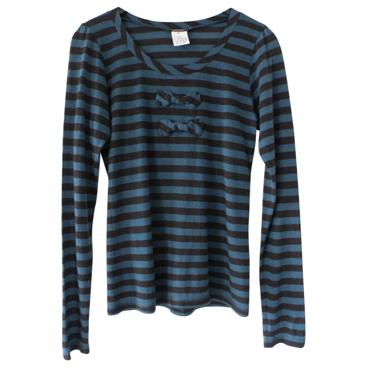 Sonia By Sonia Rykiel - Top   pour femme en laine - bleu