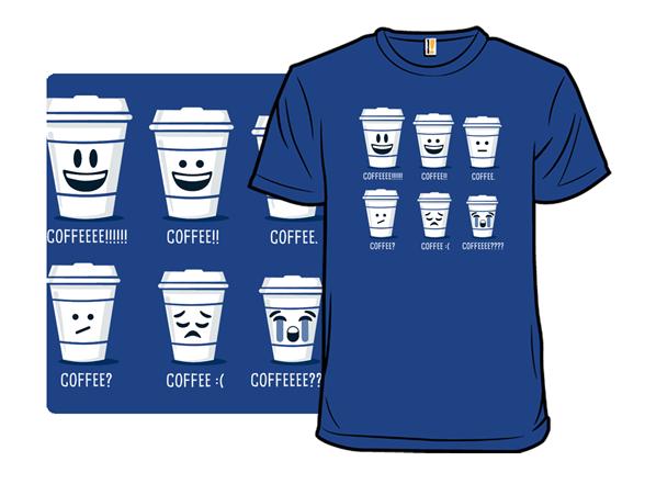 Emoticoffee T Shirt