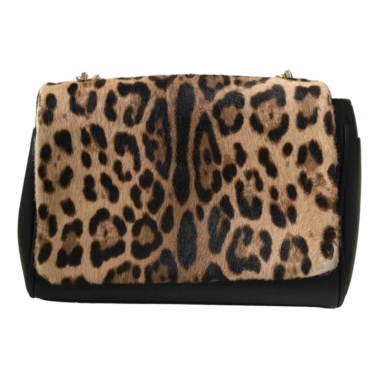 Dolce & Gabbana \N Clutch in  Bunt Leder