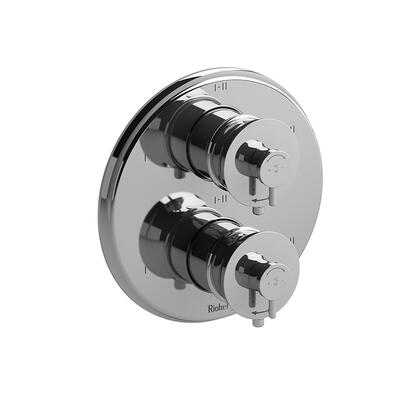 ATOP88PN 4-Way No Share Type Thermostatic or Pressure Balance Coaxial Complete Valve  in Polished