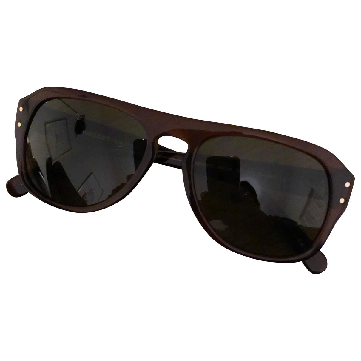 Moscot \N Sonnenbrillen in  Braun Kunststoff