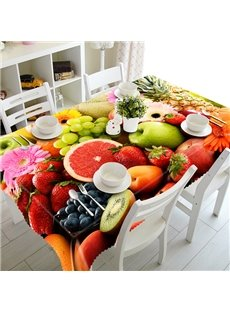 Creative Design Fruit Pattern 3D Tablecloth