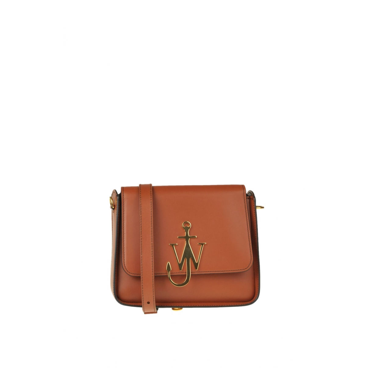 J.w. Anderson Logo Brown Leather handbag for Women \N