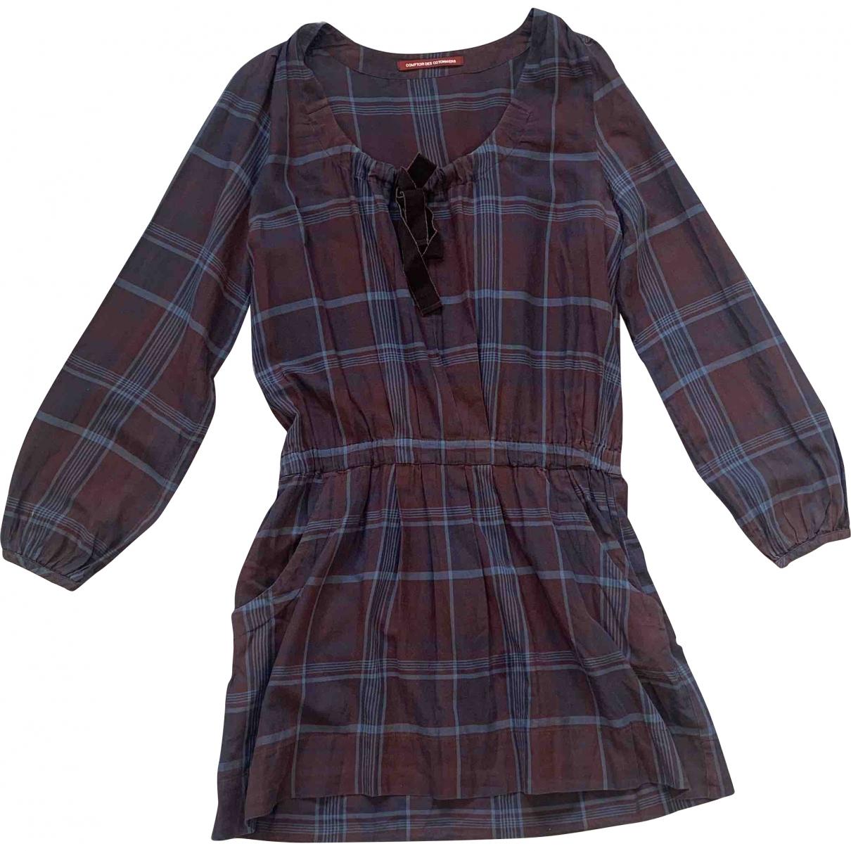 Comptoir Des Cotonniers \N Burgundy Cotton dress for Women 38 FR
