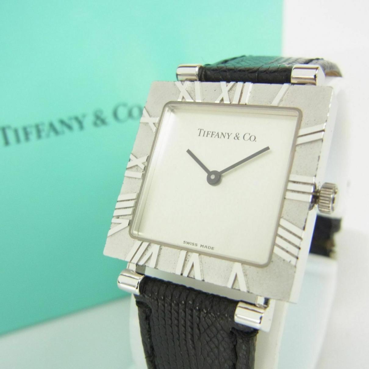 Tiffany & Co - Montre   pour femme en argent