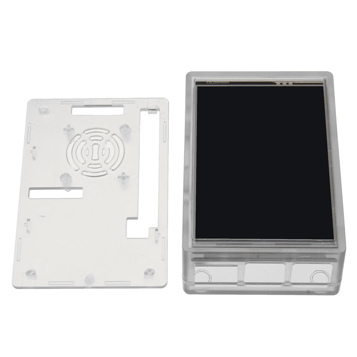 Clear Acrylic Case Enclosure Protective Shell+ 3.5 Inch TFT Touch Screen LCD Display Monitor kit for Raspberry Pi