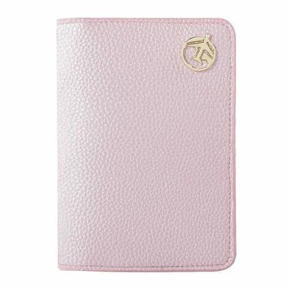 PU Passport Wallet - Rose