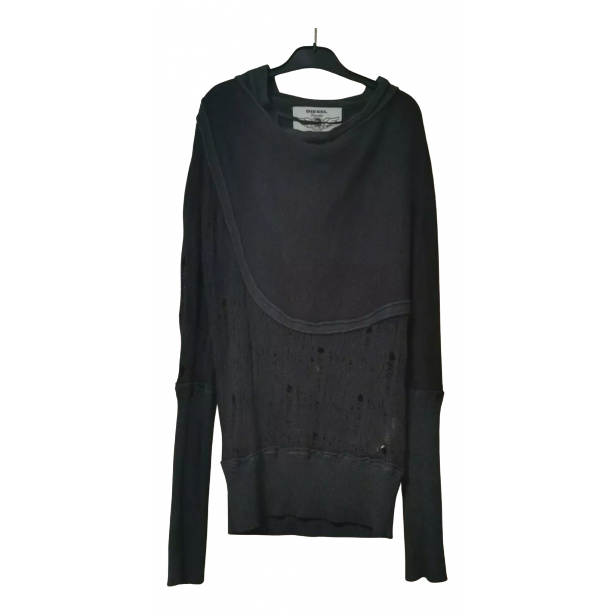 Diesel \N Pullover in  Anthrazit Wolle
