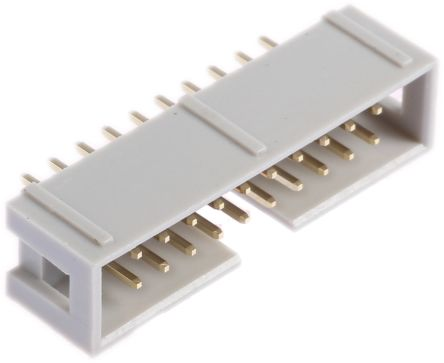 RS PRO , 20 Way, 2 Row, Straight PCB Header