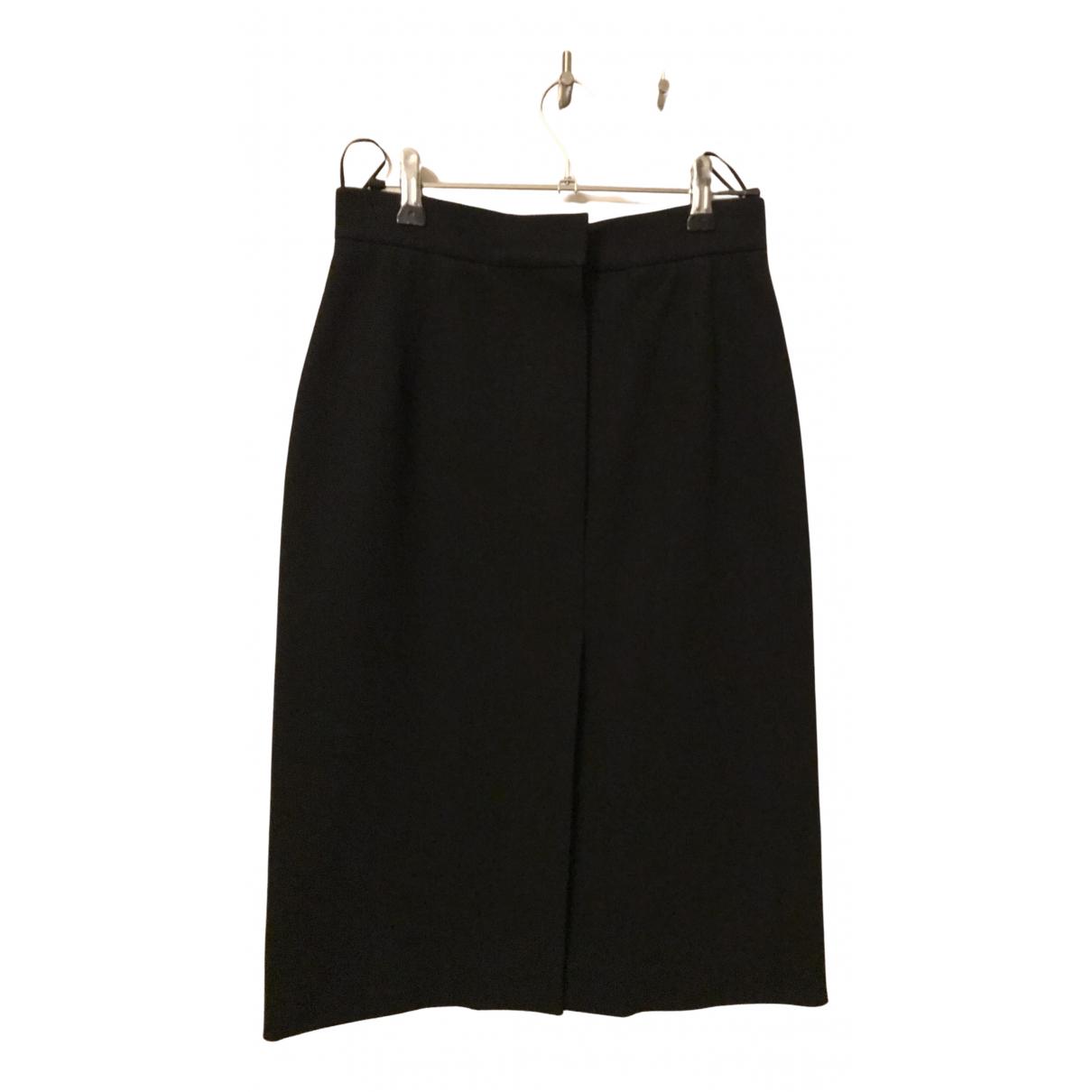 Lanvin - Jupe   pour femme en coton - noir