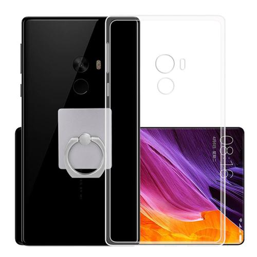 Silicon Back Cover High Quality Protective Soft Case Phone Shell For Xiaomi Mi MIX - Transparent