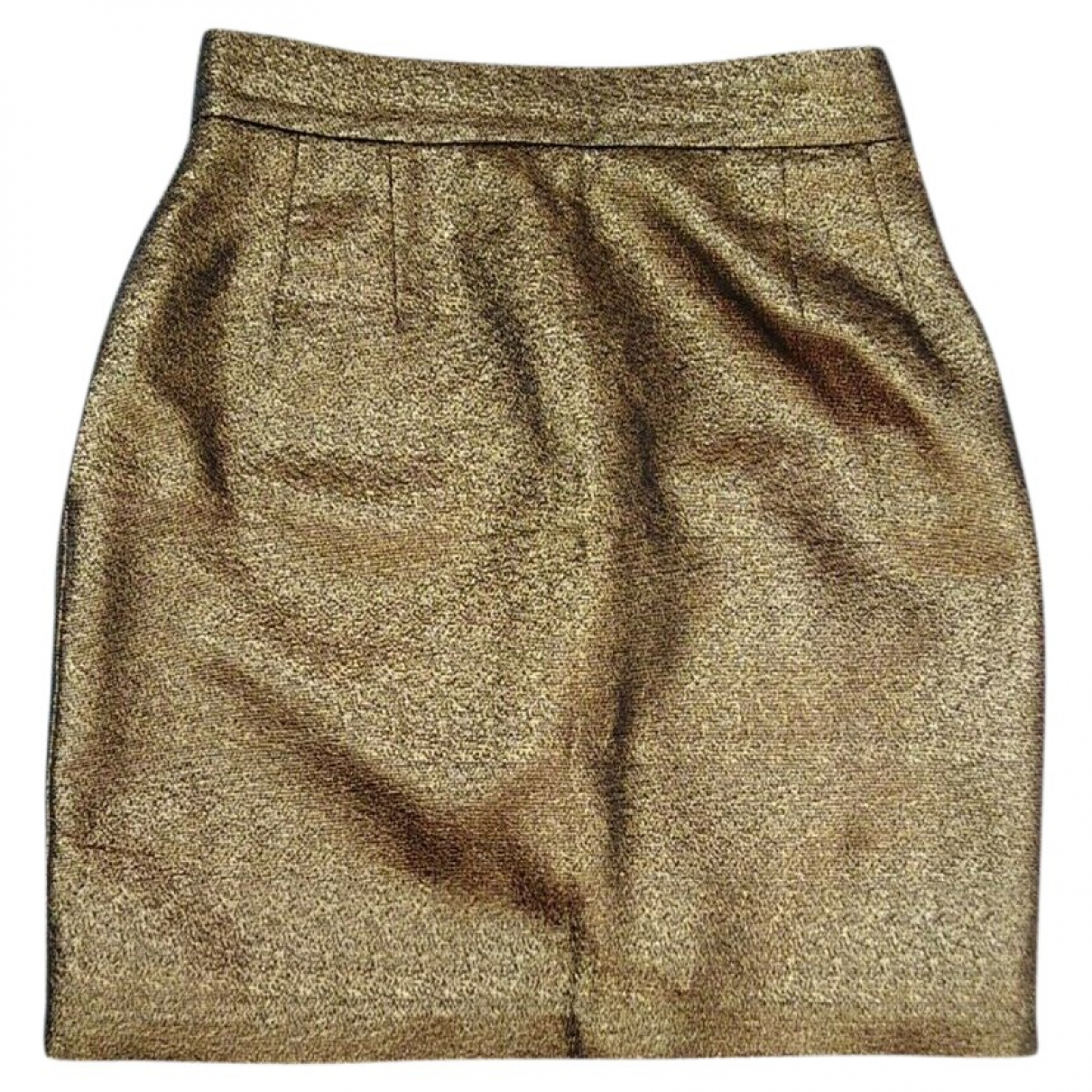 Soeur N Gold Glitter skirt for Women 34 FR