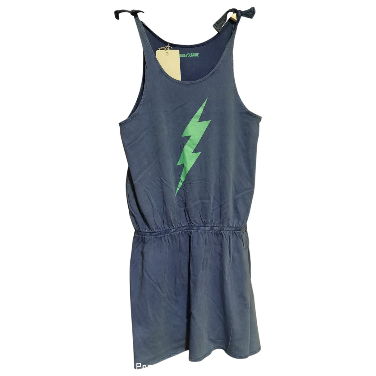 Zadig & Voltaire \N Kleid in  Blau Baumwolle