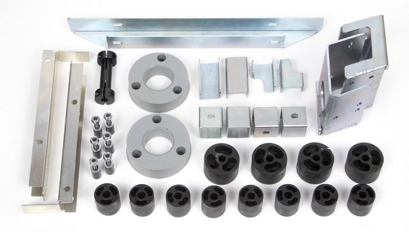 Tacoma 4.0 Series Tactical Lift Kit for 16-18 Toyota Tacoma 2/4WD Daystar 4004101