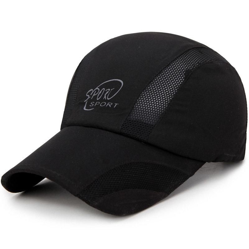 Men Breathable Quick-drying Mesh Baseball Cap Comfortable Outdoor Casual Net Sun Hat