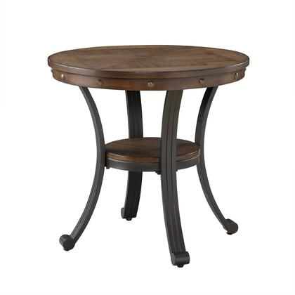 Franklin Collection 16A8243ST Side Table Rustic Umber